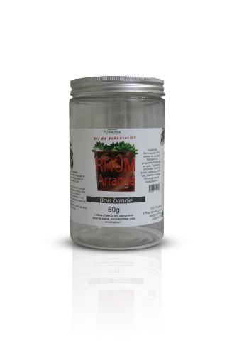 Kit+pour+rhum+arrang%C3%A9+bois+band%C3%A9