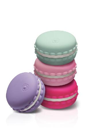 Macaron+Vibrant+Rechargeable