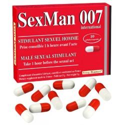 Stimulant SexMan 007 x10