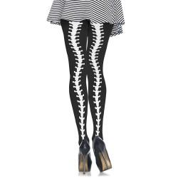 Leg Avenue Collants Couture Colonne Vertébrale