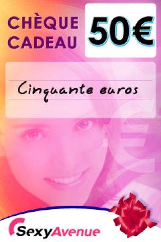 Ch%C3%A8que+cadeau+SexyAvenue+50Euros