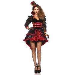 Leg Avenue Costume Robe Victorian Vamp