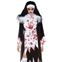 Leg Avenue Costume Nonne Tueuse