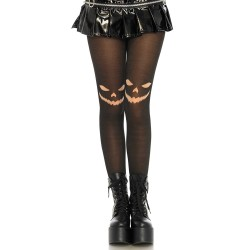 Leg Avenue Collants Citrouille d'Halloween