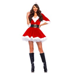 Leg Avenue Mrs Claus Hooded Dress