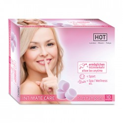 Soft Tampons Intimate Care Boîte de 10