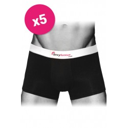 Lot de 5 Boxers Sexyavenue