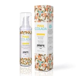Huile de Massage Chauffante Gourmande Piña Colada