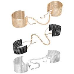 Désir Métallique Metallic Mesh Handcuffs