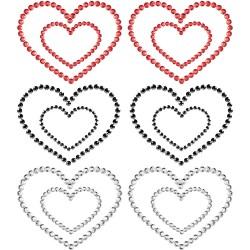 Mimi Heart Rhinestone Pasties