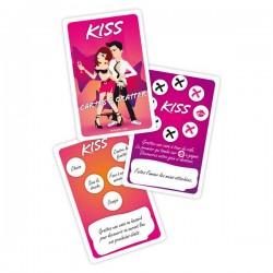 Jeu de Cartes à Gratter Kiss