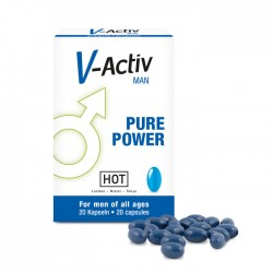 Gélules Stimulantes V-ACTIV Man Pure Power