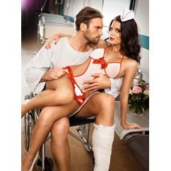 Costume d'Infirmière Sexy Candy Nurse 2 Pièces