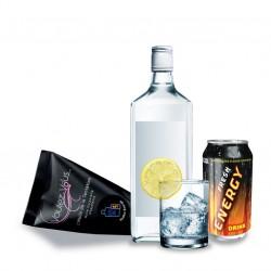 Midnight Oil Vodka Energy Warming Body Oil Pod
