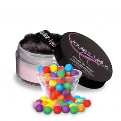 Poudre Gourmande Chute de Neige Bubble Gum