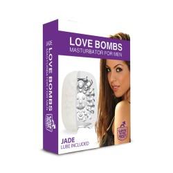 Masturbateur Oeuf Love Bombs Jade