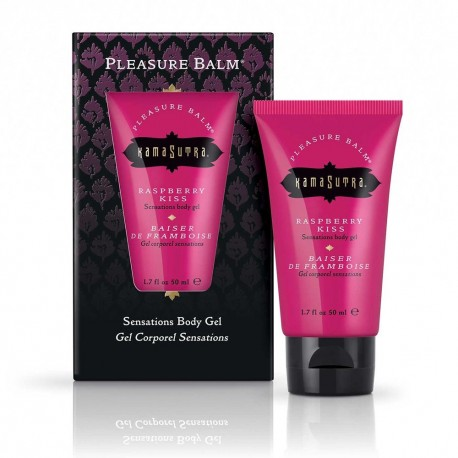 Sensations Pleasure Balm Baiser de Framboise Body Gel