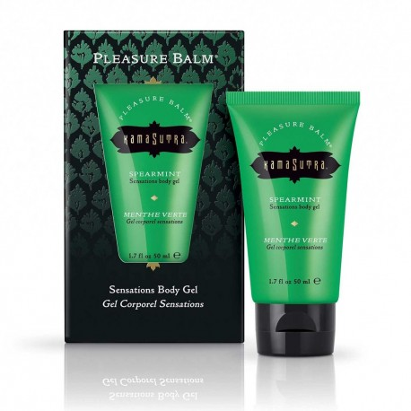 Sensations Pleasure Balm Menthe Verte Body Gel