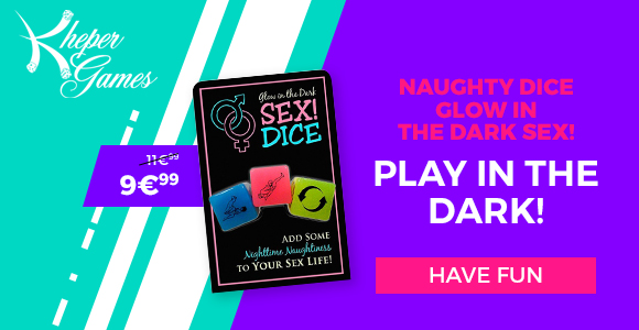 Discover the Sex! Dice Glow In The Dark on SexyAvenue!